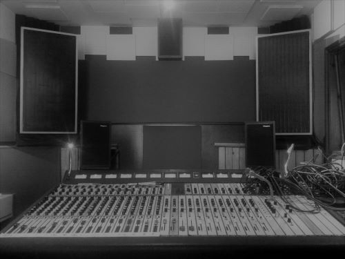 Analogue Studio Control Room